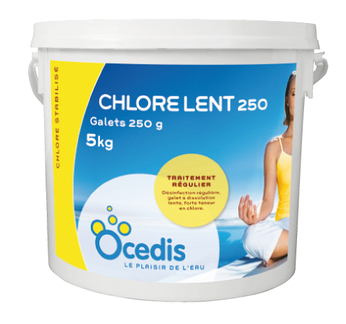 CHLORE LENT 250gr